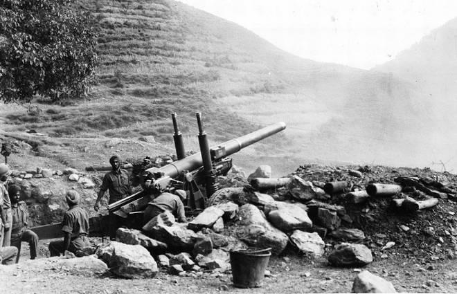 1962-ம் ஆண்டு  நடந்த இந்தியா - பாக். போர்