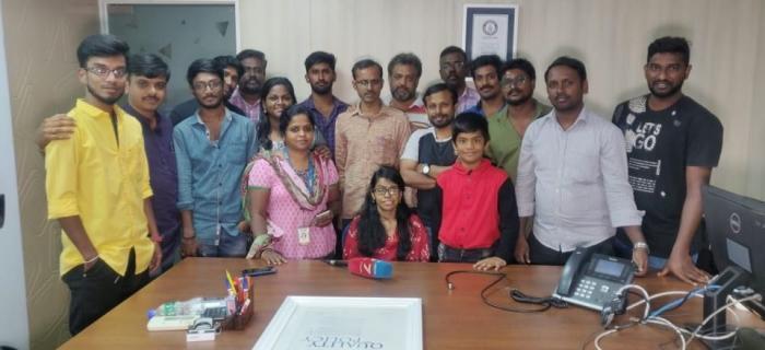 'நியூஸ்7' செய்திக் குழுவினருடன் சாந்தி