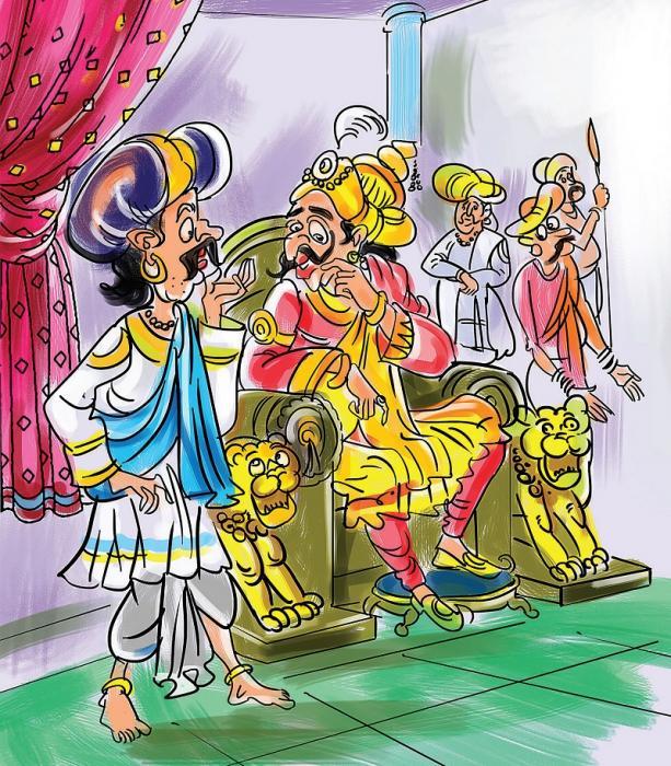 அதிபுத்திசாலி மன்னரும் அப்பிராணி அமைச்சரும் 16056710082006