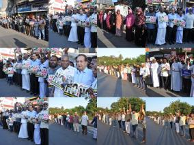 the-human-chain-protest-the-citizenship-act-photos