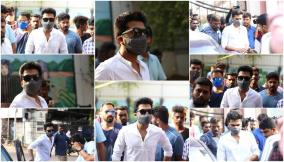 simbu-cast-his-vote