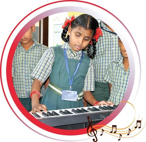 students-niranjana-playing-music