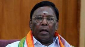 puduchery-cm-supports-karnataka-speaker-s-decision-to-disqualify-mlas