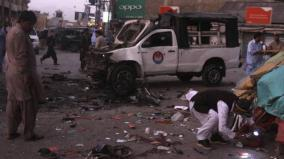 5-killed-38-injured-in-blast-targeting-police-vehicle-in-pakistan