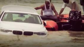 angry-haryana-youth-pushes-luxury-bmw-in-river-after-father-denies-his-new-jaguar-car-request
