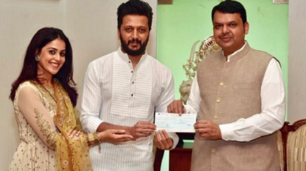 riteish-genelia-donate-rs-25-lakh-for-maharashtra-flood-relief