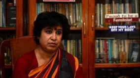 article-370-had-to-go-tasilma-nasreen-demands-abolition-of-islamic-law-using-kashmir-method