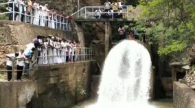 azhiyar-dam-water-released-farmers-happy