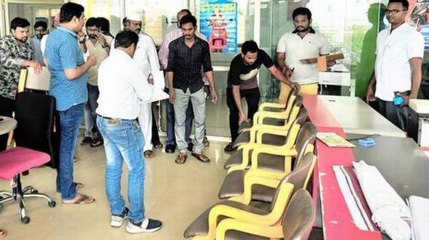 furniture-shifted-from-showroom-of-kodela-s-son