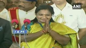telangana-tamilisai-soundararajan-was-sworn-in-as-the-governor-of-the-state