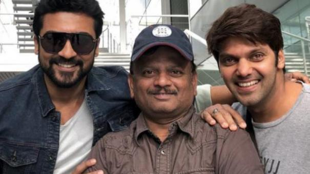 director-kv-anand-explains-about-kaappaan-movie-story-issue