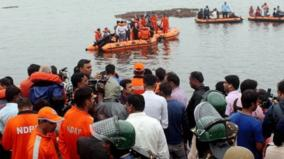 11-people-have-lost-their-lives-in-the-incident-where-a-tourist-boat-carrying-61-people-capsized-in-godavari-river-in-devipatnam-east-godavari-district-today