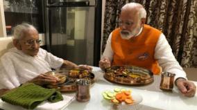 prime-minister-narendra-modi-meets-his-mother-heeraben-modi