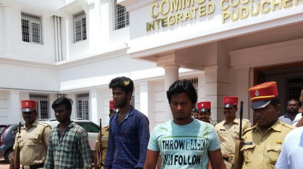 3-persons-surrendered-in-puduchery-court-in-murder-case