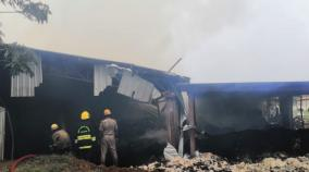 fire-accident-in-cotton-mill-near-pollachi