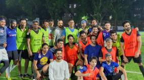 dhoni-back-on-the-pitch-playing-football-with-tennis-great-paes