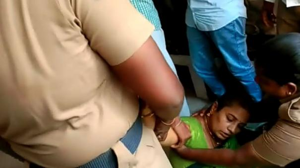 nirmala-devi-faints-in-virudhunagar-court