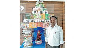 temple-to-saraswati-using-books