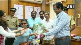 indias-first-visually-challenged-woman-ias-officer-takes-charge-as-sub-collector