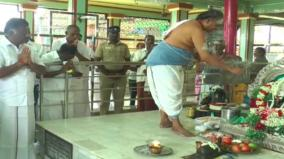 deputy-cm-ops-conducts-special-pooja-in-virudhunagar