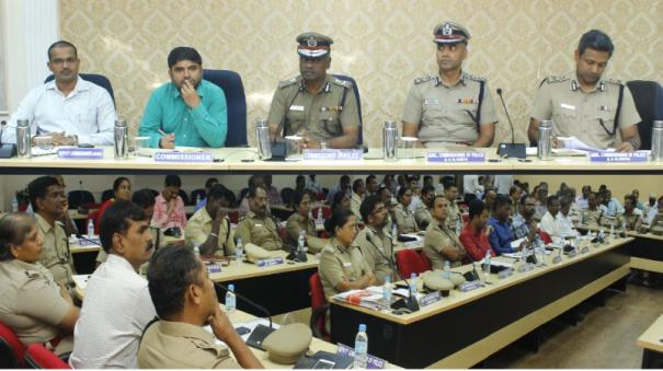 northeast-monsoon-improvement-works-chennai-corporation-and-police-coordination-meeting