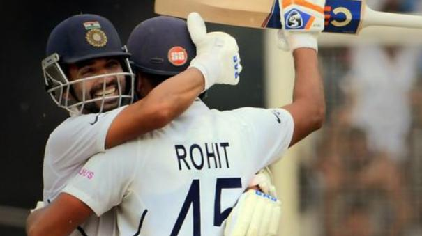 rohit-sharma-breaks-records-in-his-6th-test-century-india-dominates-after-initial-slump-in-the-ranchi-test