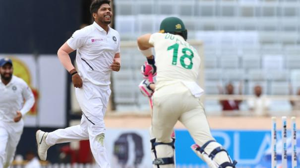 south-africa-were-129-for-6-in-their-first-innings-in-reply-to-india-s-497-for-9-declared-at-lunch