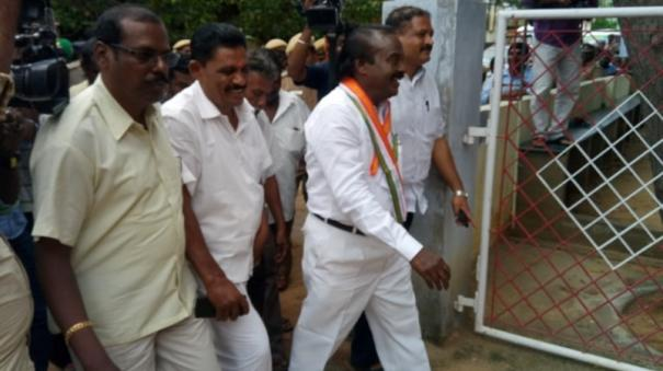 nanguneri-bye-election-vasnathkumar-mp-granted-bail