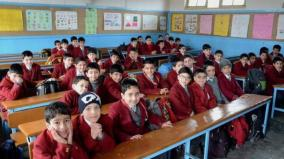 exams-in-kashmir-schools