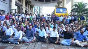 four-sections-of-police-file-case-against-doctors-protesting-in-chennai