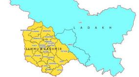 centre-releases-political-map-of-new-union-territories-jammu-kashmir-and-ladakh