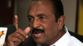 vaiko-urges-action-against-those-who-vandalised-thiruvalluvar-statue
