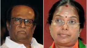 vanathi-srinivasan-comments-about-rajini-speech
