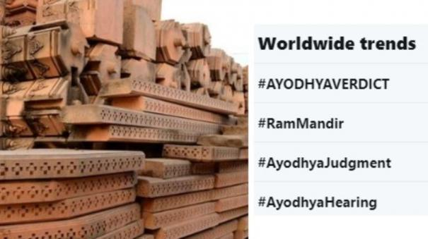 ayoydhya-verdict-twitter-trends-worldwide