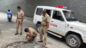responsibility-of-the-police-who-removed-the-hazardous-wires-on-the-road-public-appreciation