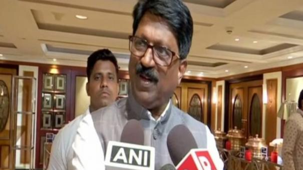 shiv-sena-mp-arvind-sawant-announces-resignation-from-ministerial-post