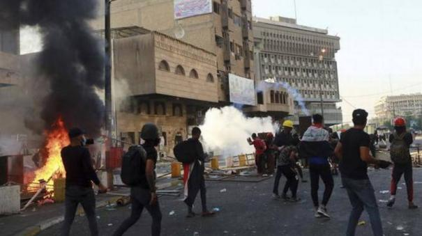 us-urges-iraq-to-hold-early-elections-halt-violence-against-protesters