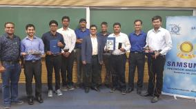 samsung-recognizes-iit-indore-students-for-innovation