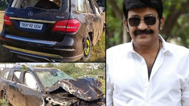 dr-rajasekhar-car-accident