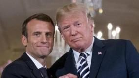 trump-macron-talk-on-syria-coordination-iran-over-phone