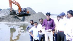 adyar-and-koovam-river-restoration-work-revenue-administration-commissioner-radhakrishnan-surveying-in-person