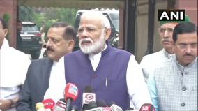pm-modi-ahead-of-start-of-winter-session-of-parliament