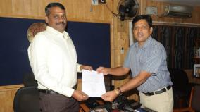 new-collector-for-virudhunagar-takes-charge