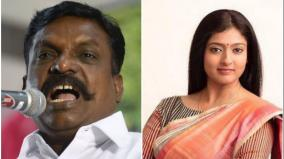 gayathri-raghuram-controversial-comments-against-thirumavalavan