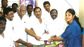 dmk-cadre-daughter-contests-mayor-seat