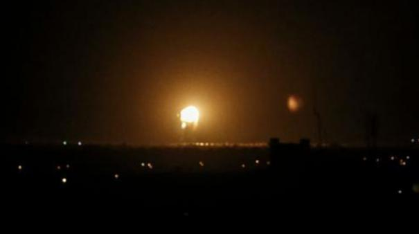 israeli-aircraft-attacked-several-sites-linked-to-the-military-wing-of-gaza