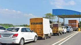 madurai-toll-gate-queue-issue