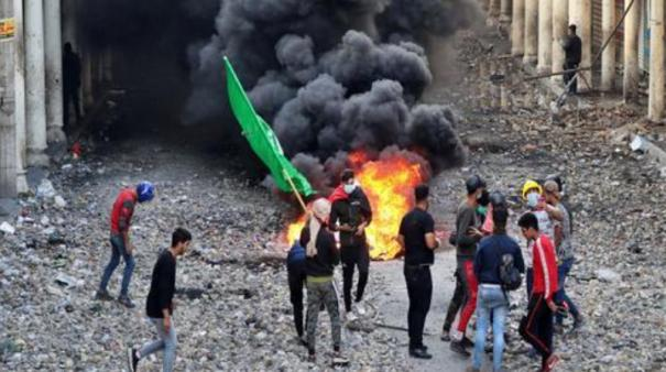at-least-45-protesters-shot-dead-152-others-wounded-in-escalating-iraqi-unrest
