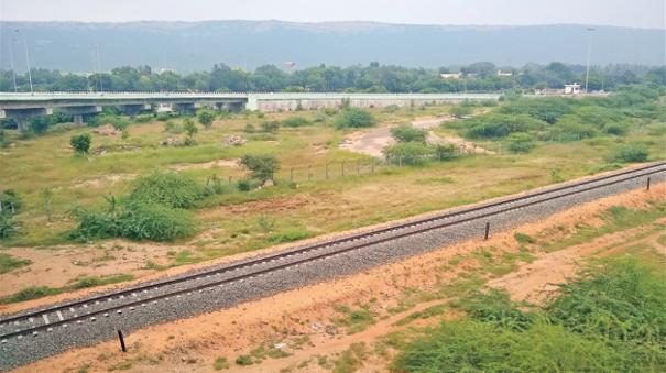 madurai-bodi-railway-line-pending