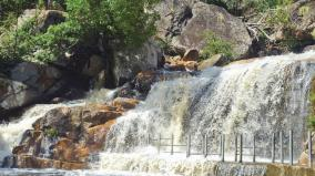 panchalinga-falls-water-flow-increases